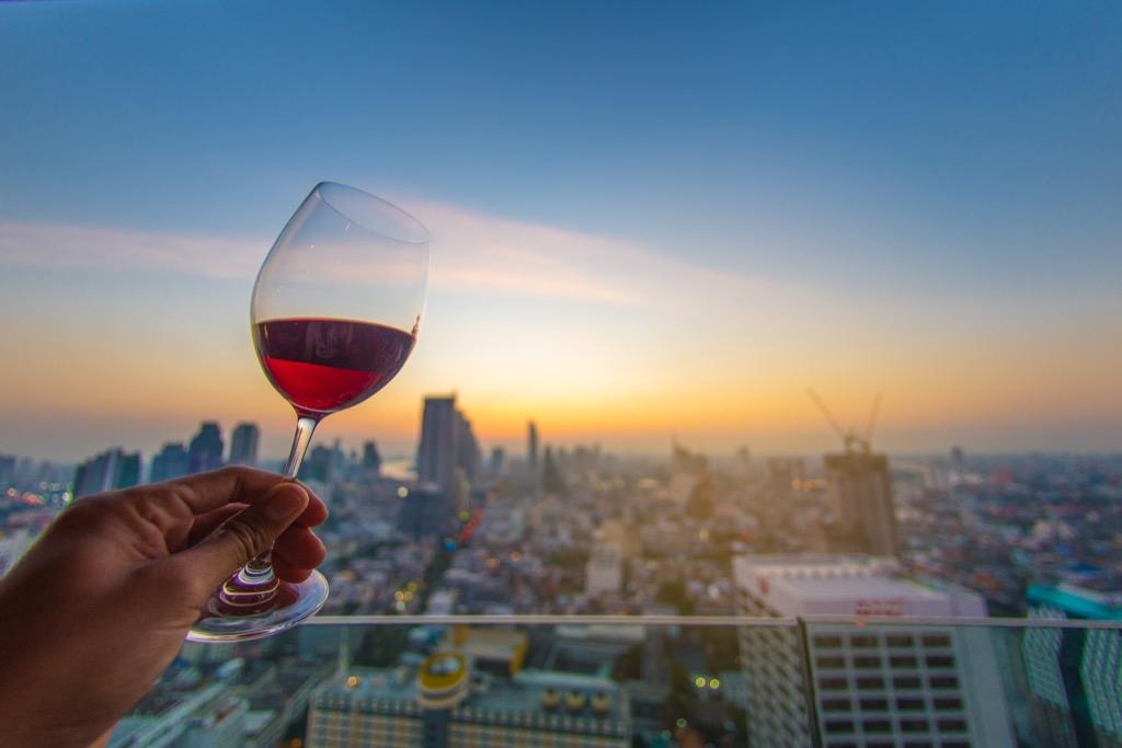 benefits of wine skyline