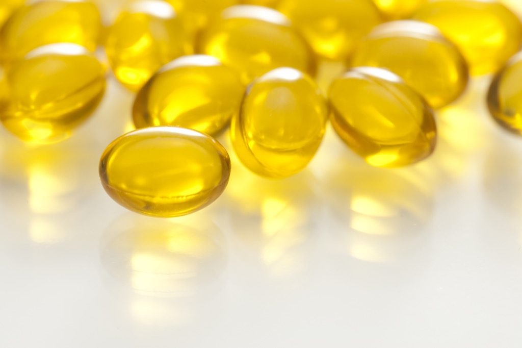 reduce stress by taking fish oil pills