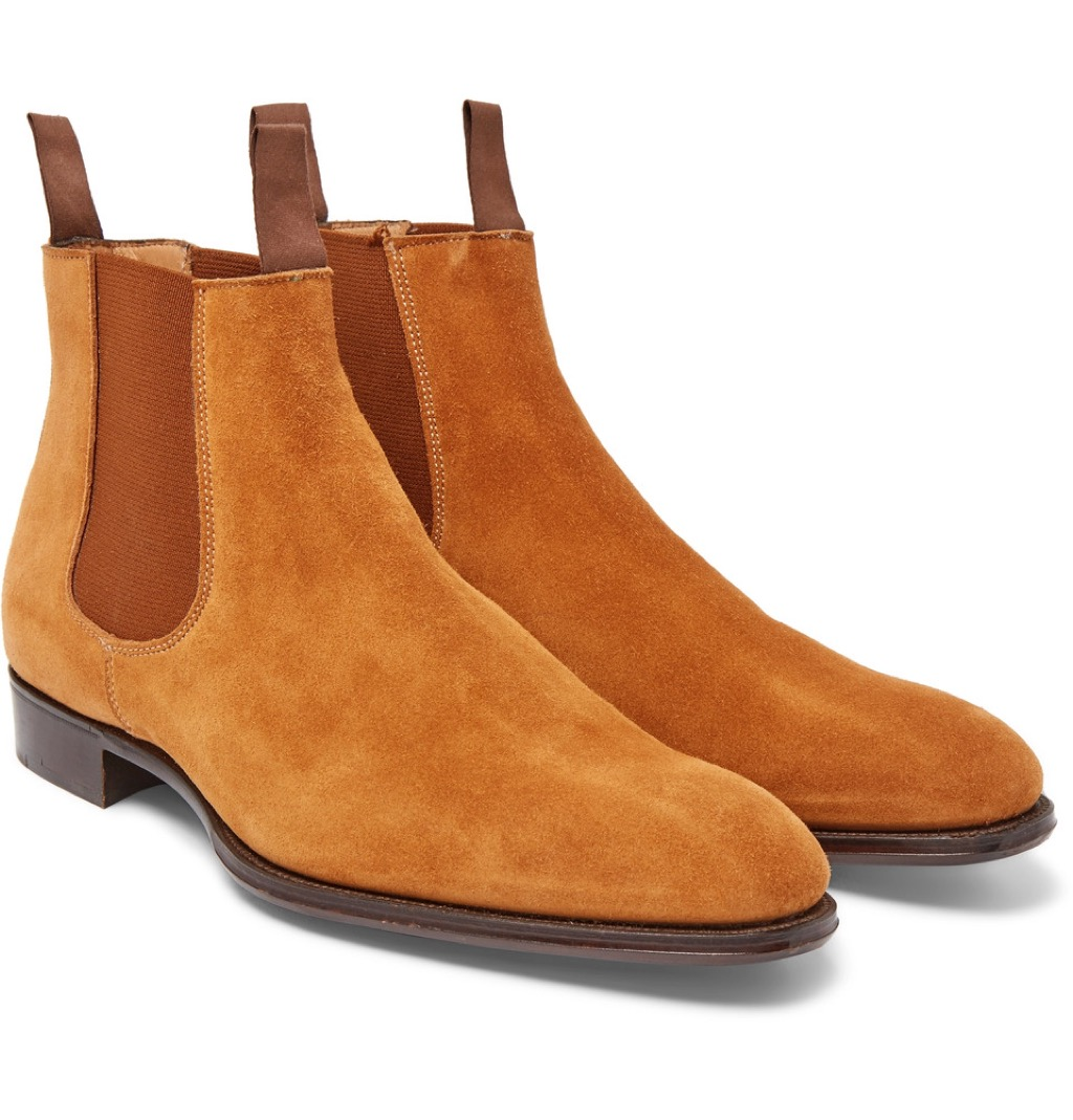 suede chelsea boots kingsman upcoming films
