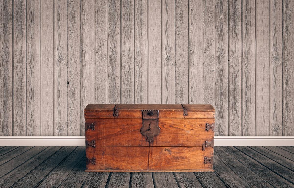 An Old Wooden Chest Home Hazards