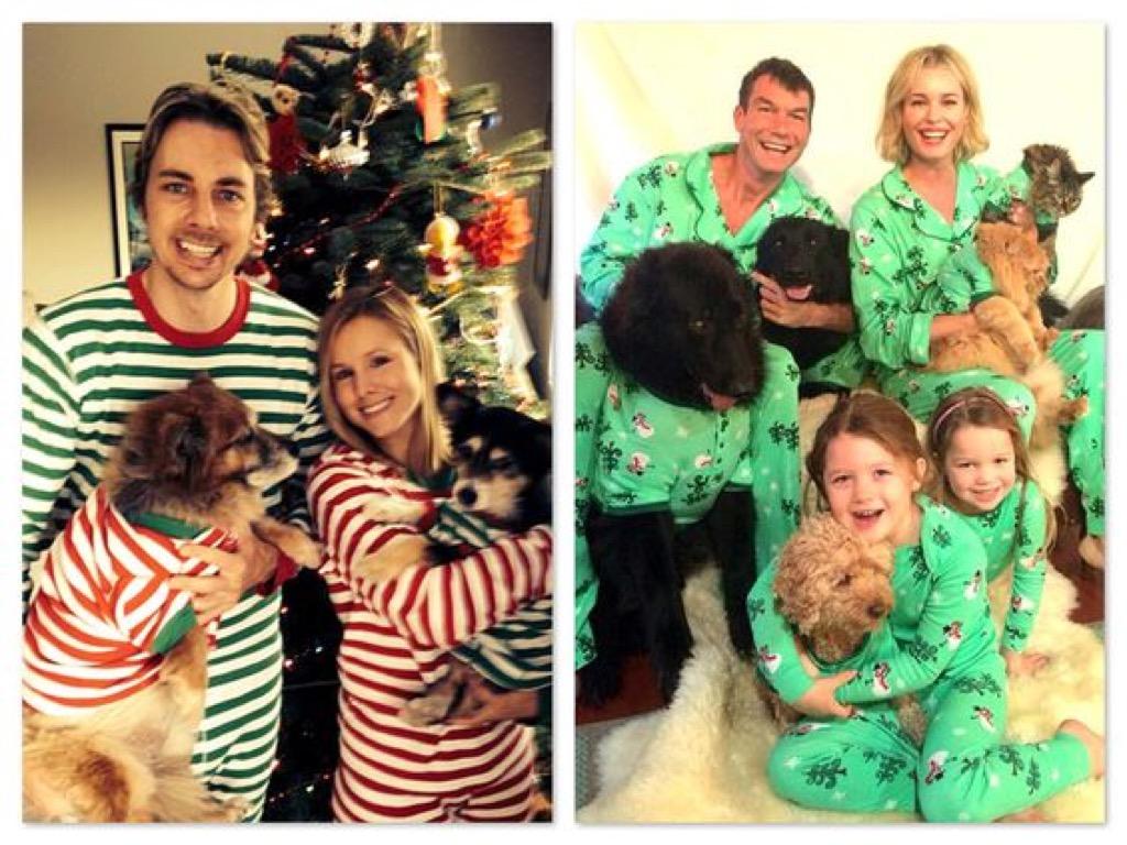 Matching pajamas, bad Christmas trend