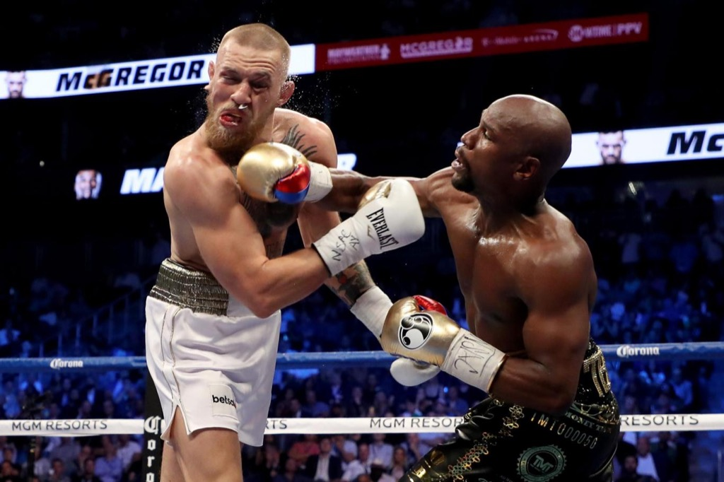 Conor McGregor and Floyd Mayweather celebrity facts