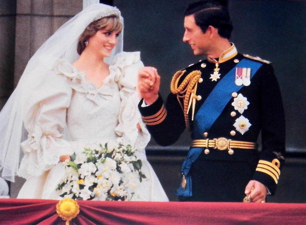 Princess Diana on her wedding day Princess Lavish Royal Weddings