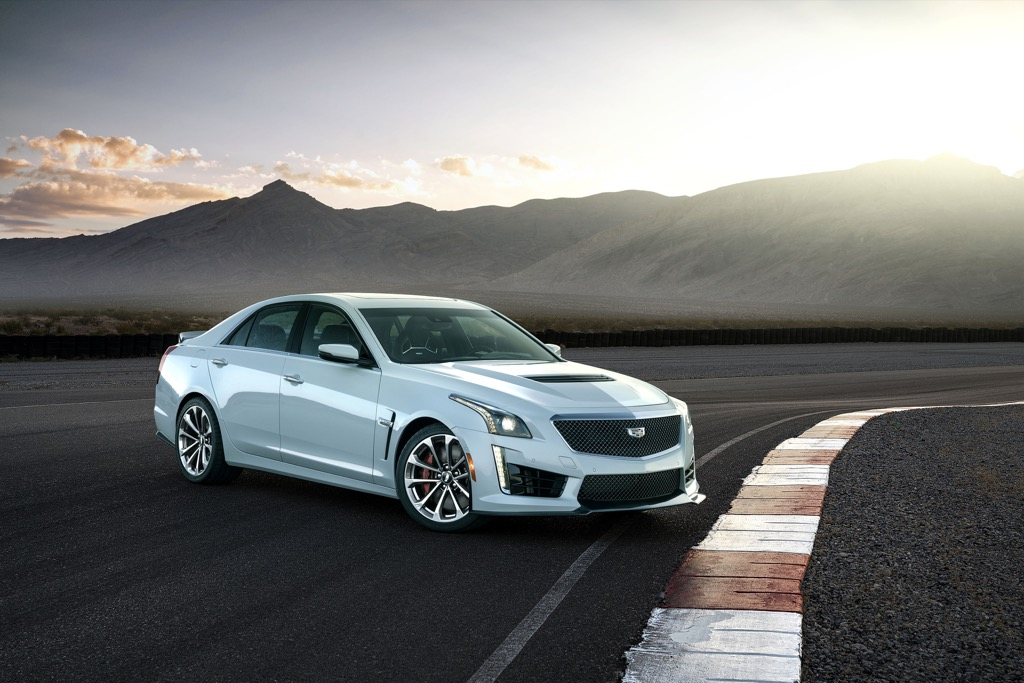 The 2018 Cadillac CTS-V is an instantly collectible new car