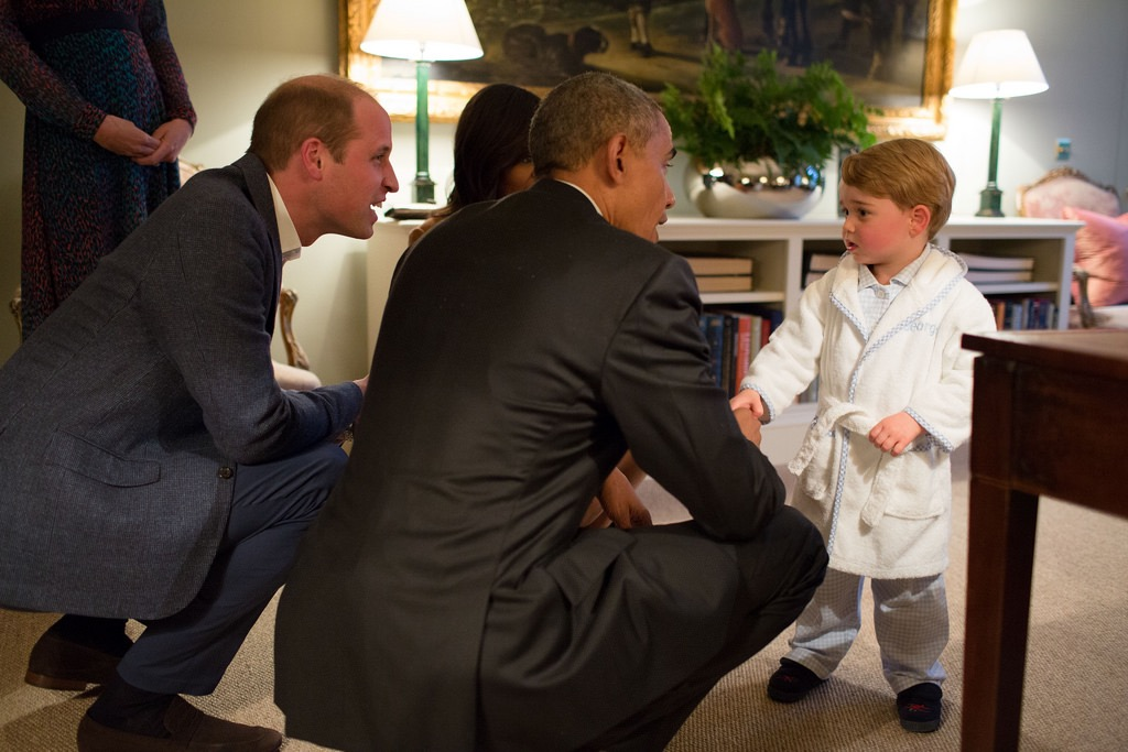 Prince George a strict but relatively relaxed dress code
