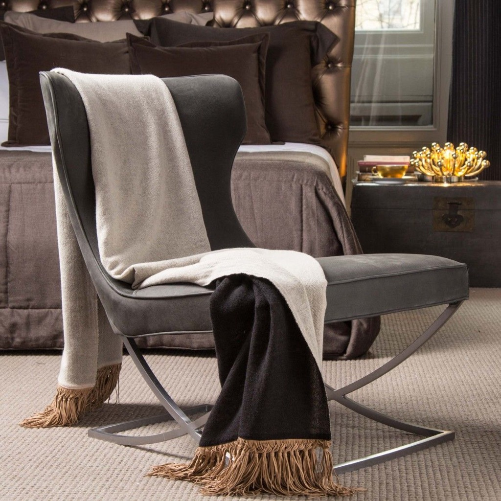 Cashmere blanket, a stylish home upgrade.