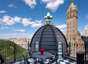 Tommy Hilfiger's Plaza rooftops, a truly luxurious celebrity home.