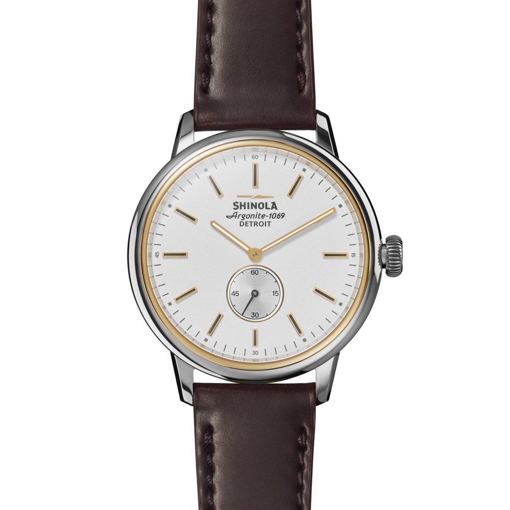 The Shinola Bedrock 42mm is cool vintage watch you can buy right now