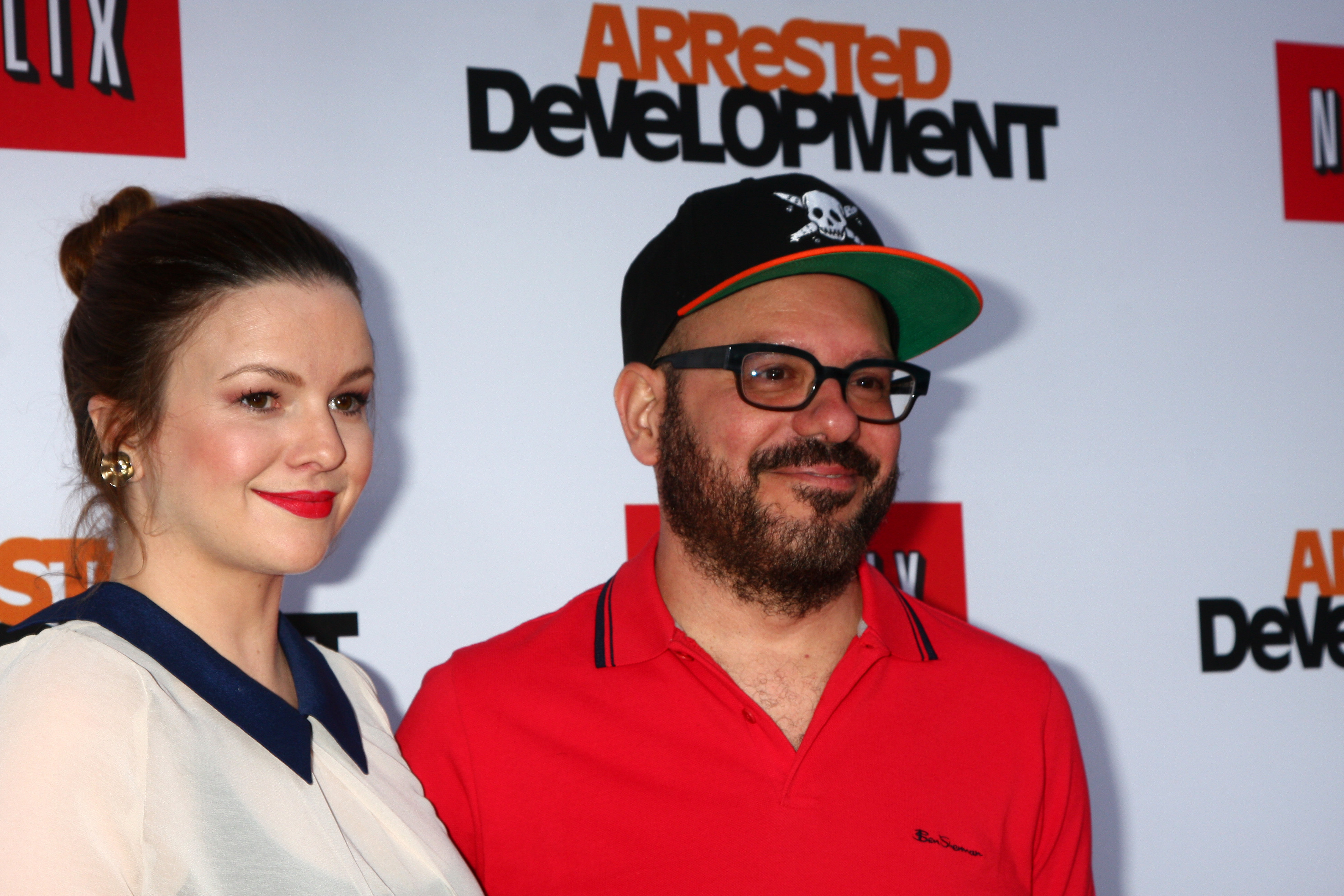 Actors Amber Tamblyn and David Cross relationships with big age difference
