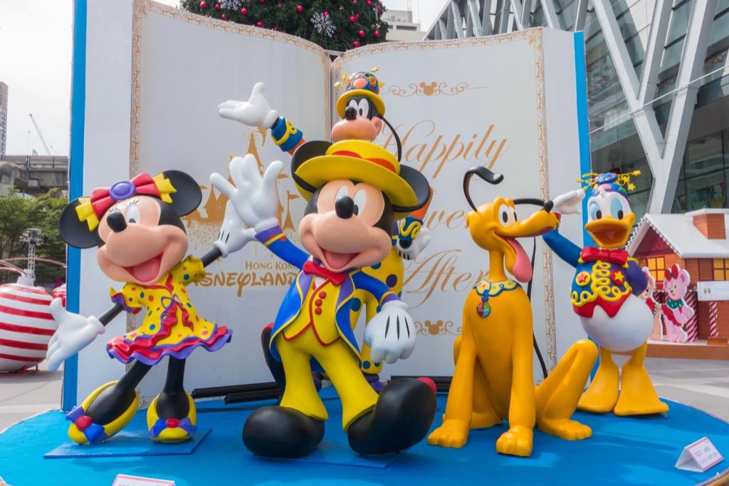 Disney cast dancing