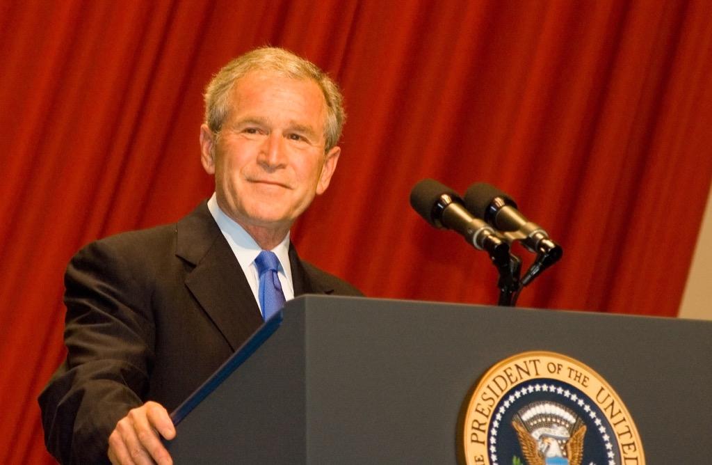 Former President George W Bush