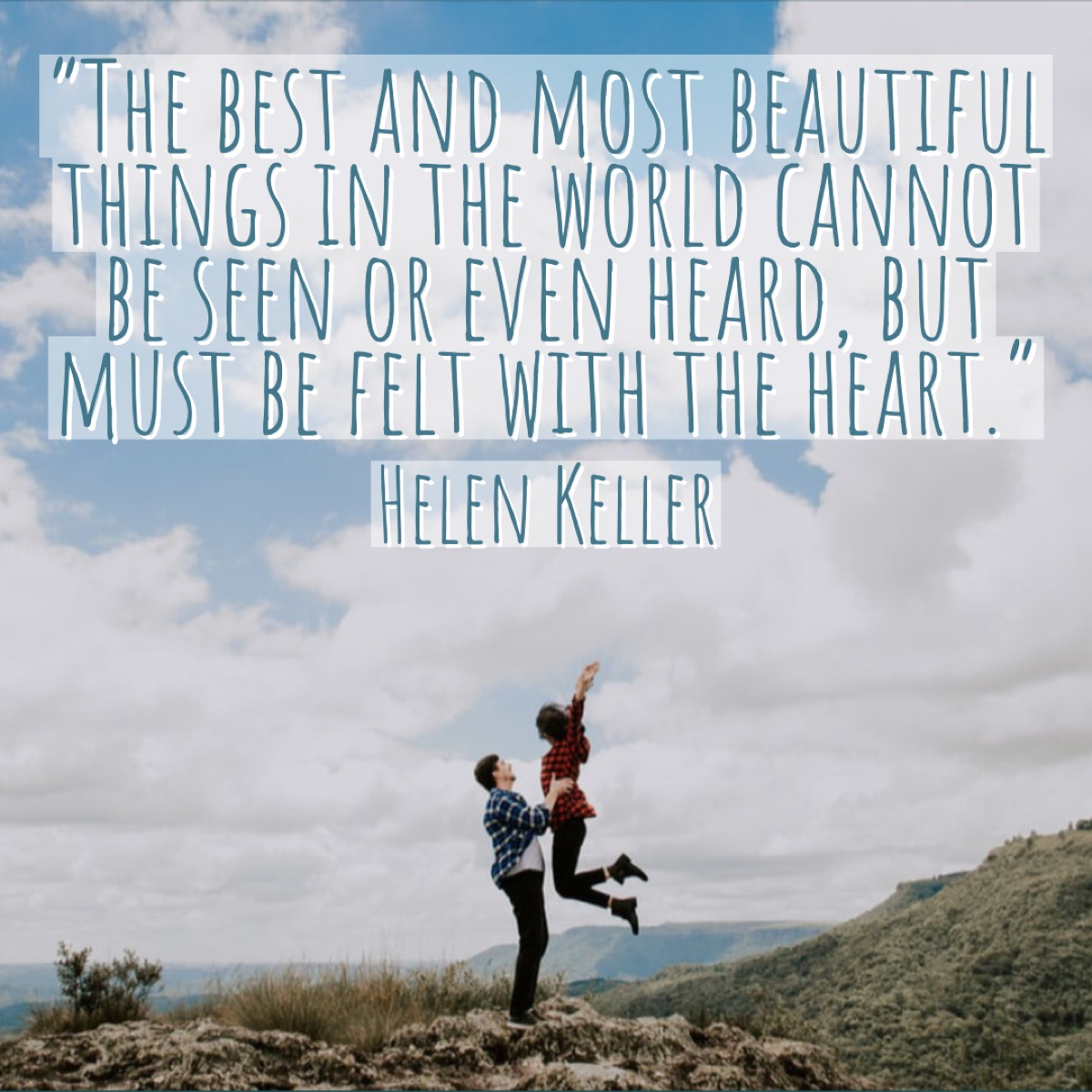 Helen Keller Relationship Quote