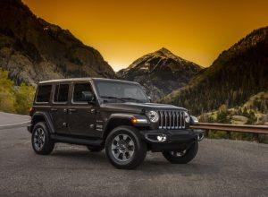 The 2018 Jeep Wrangler Sahara is an iconic all-wheel drive winter drive