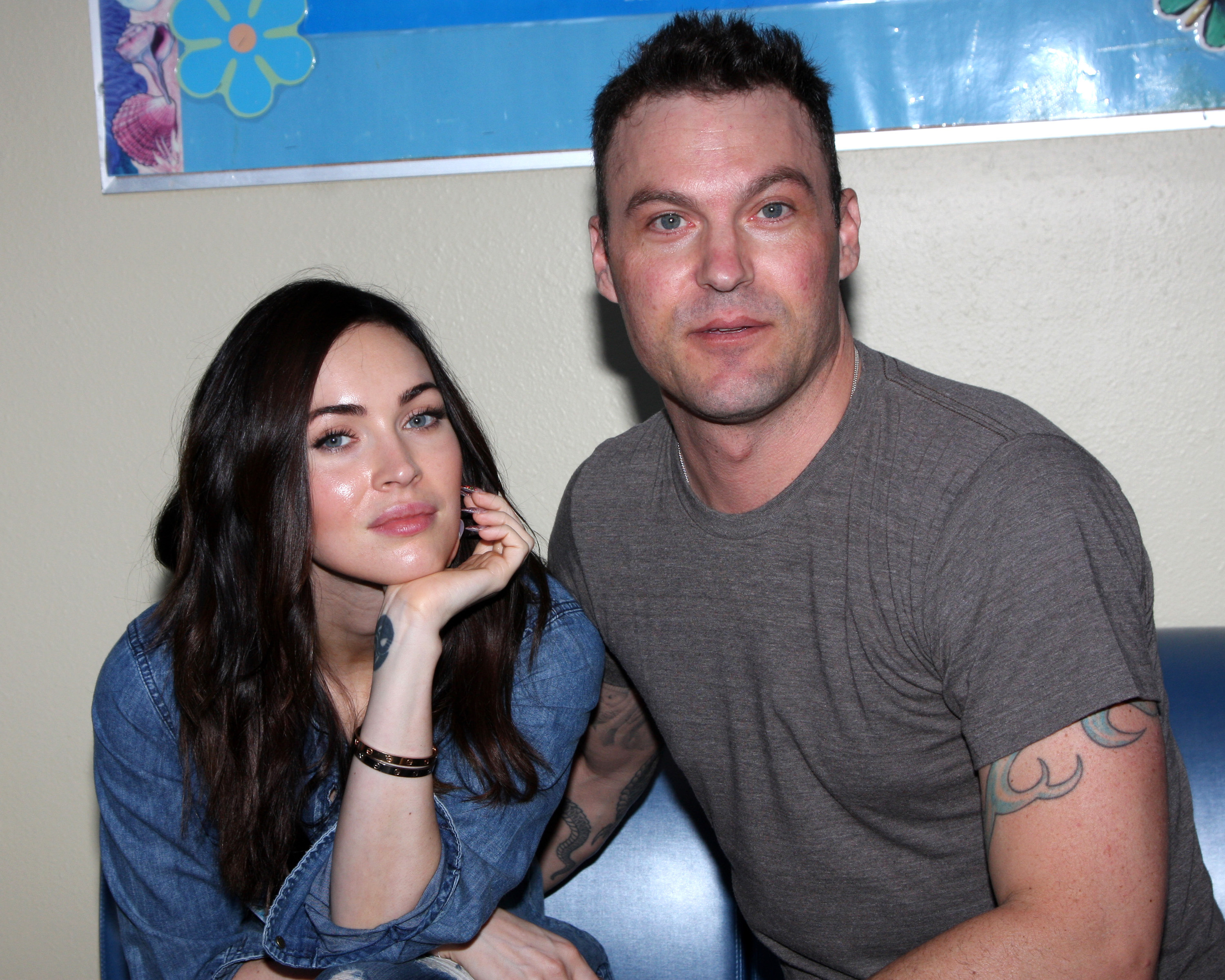 Megan Fox and Brian Austin Green celebrity facts