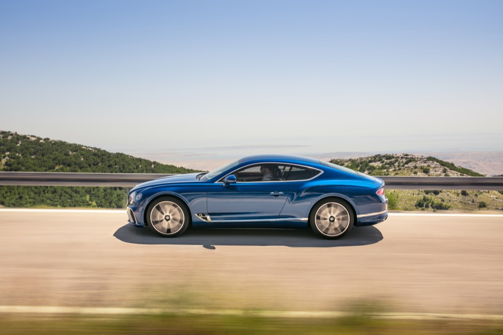 The 2018 Bentley Continental GT is an instantly collectible new car