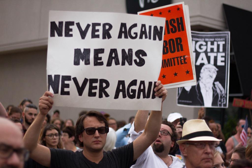 NY Anti-Trump Rally