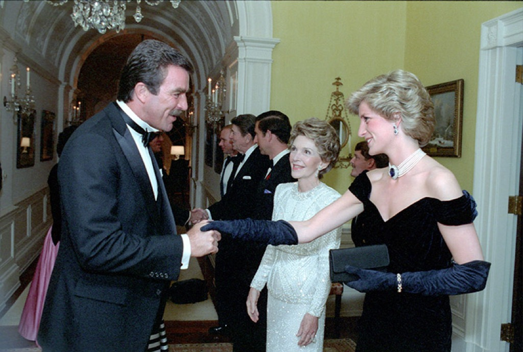 Gloves are expected to be worn by royal women but Diana didn't like them much