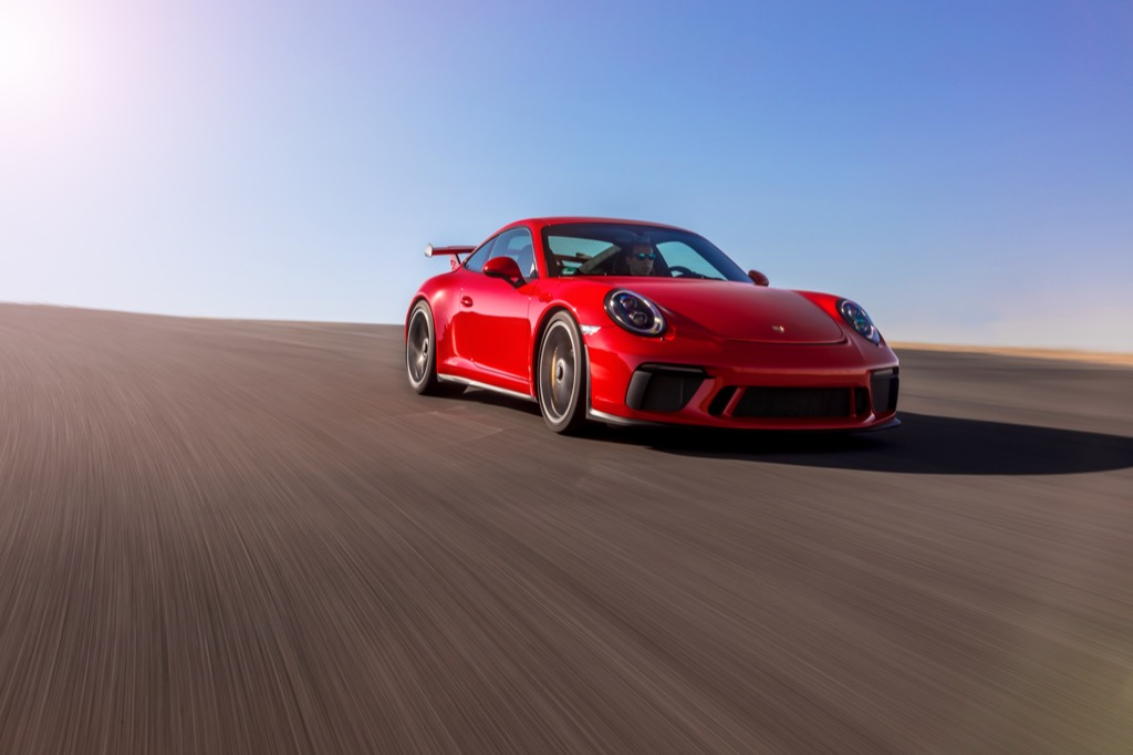 The 2018 Porsche 911 GT3 is an instantly collectible new car