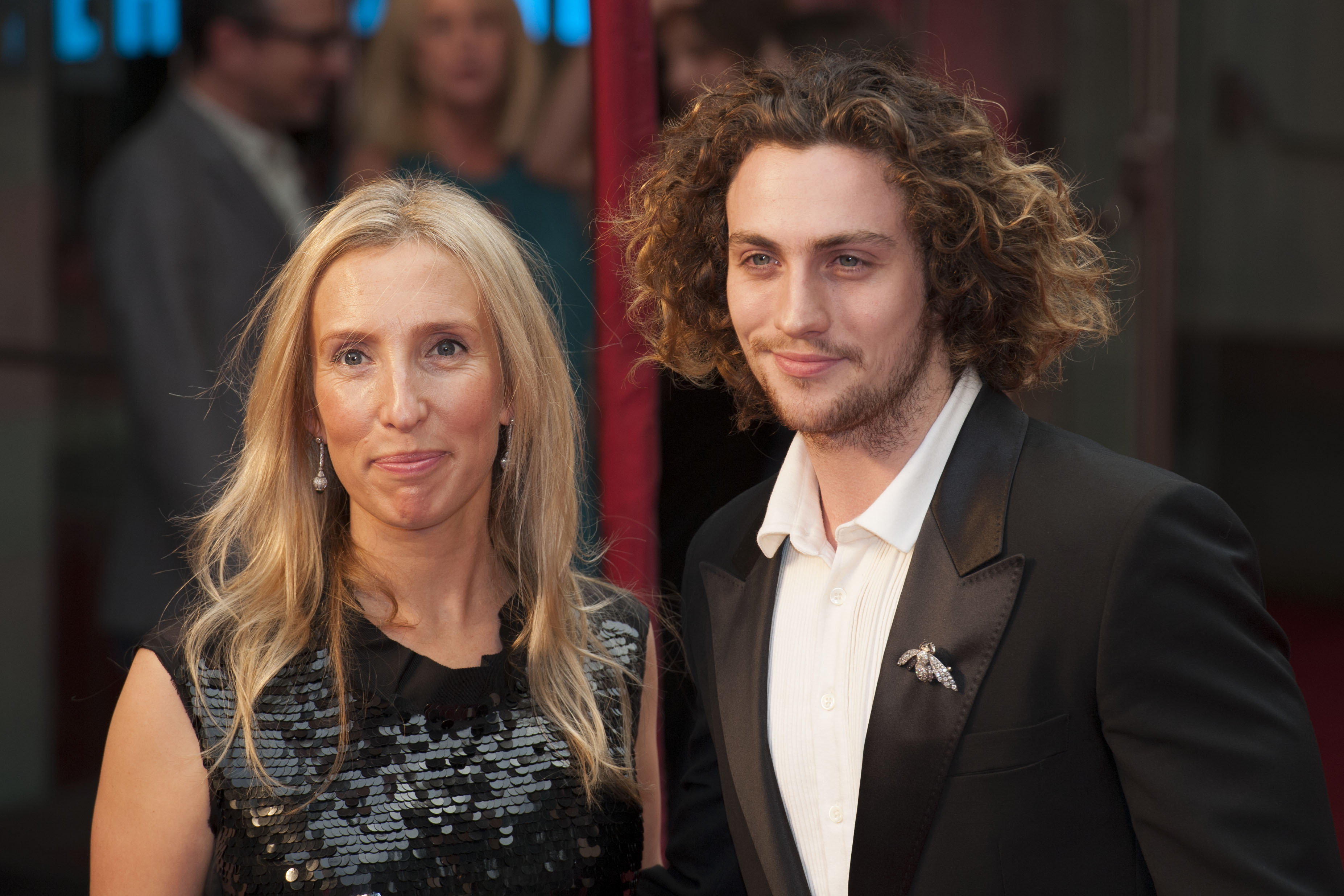 Married couple Sam and Aaron Taylor-Johnson relationships with big age difference