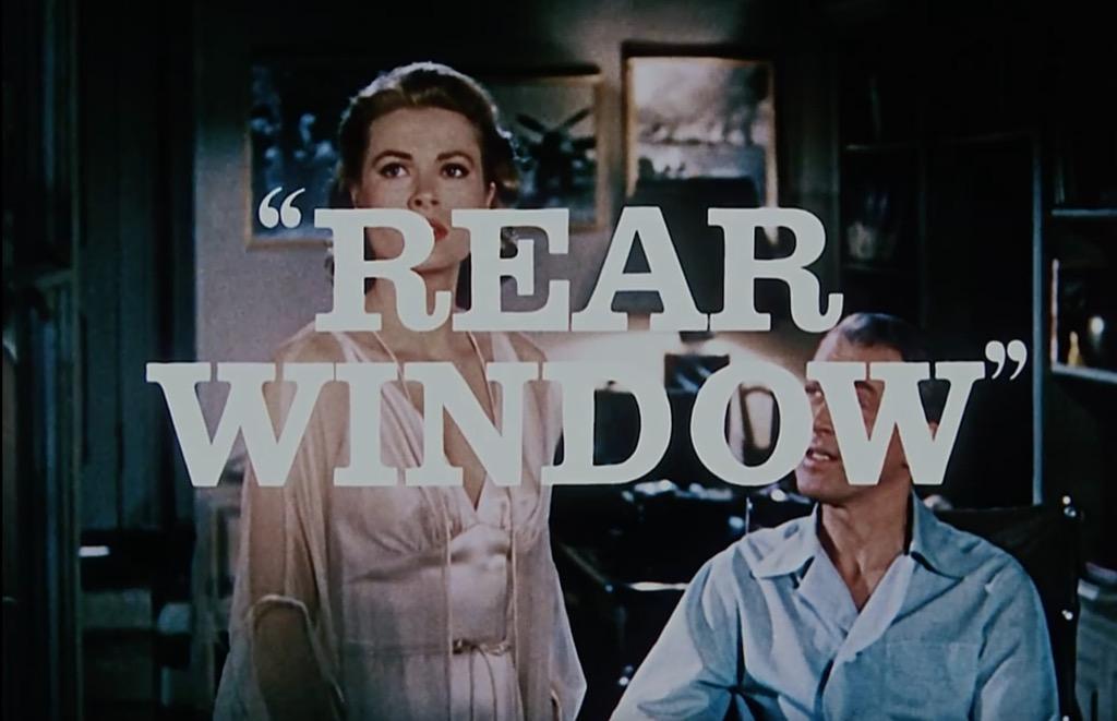 rear window iconic movies