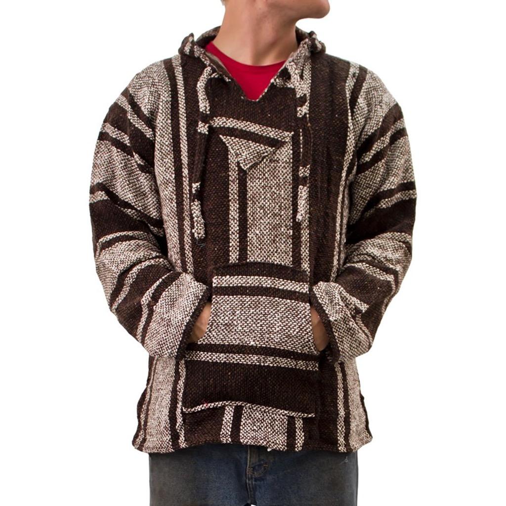 baja sweatshirt, something you should never wear to work.