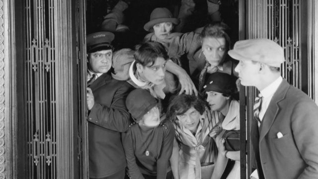 crowded elevator etiquette
