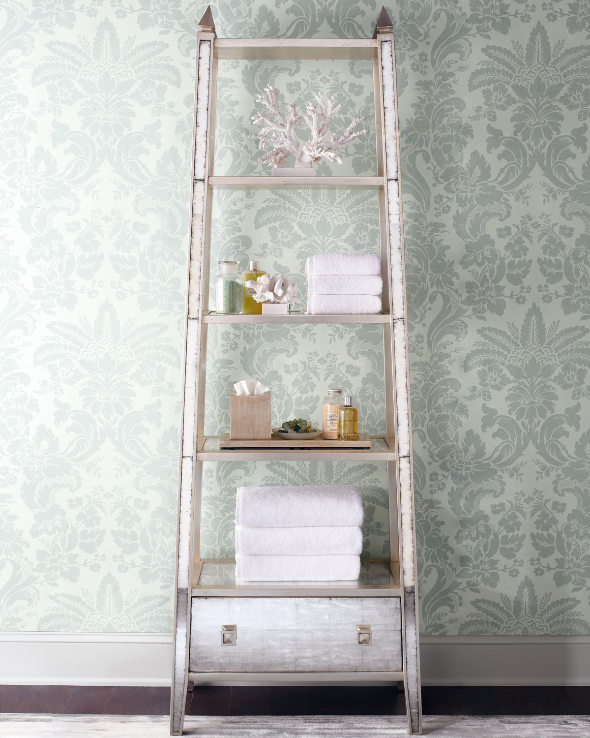 An etagere, a stylish home upgrade.