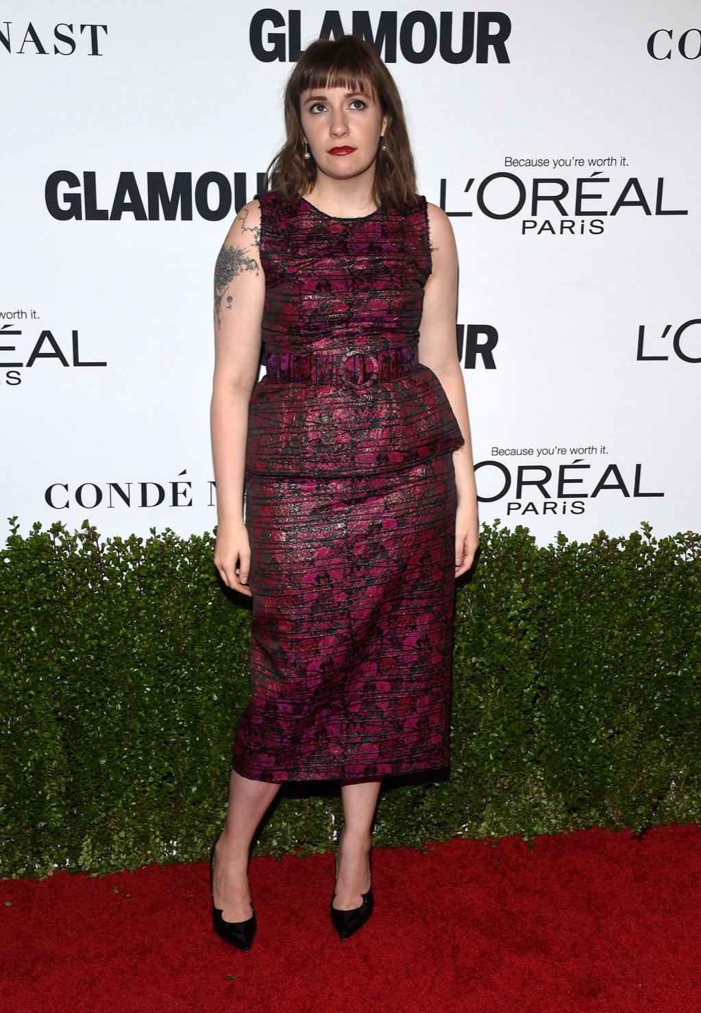 lena dunham celebrity weight loss stories