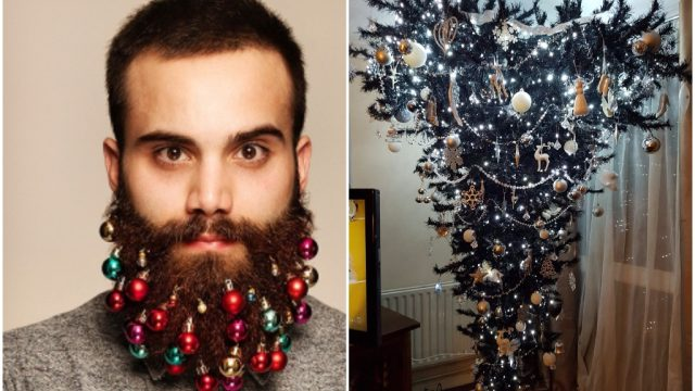 Beard baubles and Christmas trees