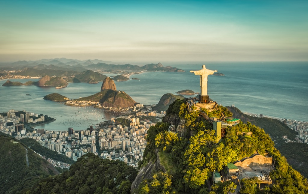 rio de janeiro city names Cleanest Cities in the world