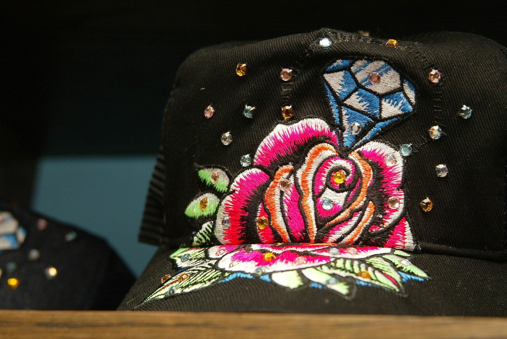 Ditch the ed hardy, sparkly embroidered clothing is not work clothing