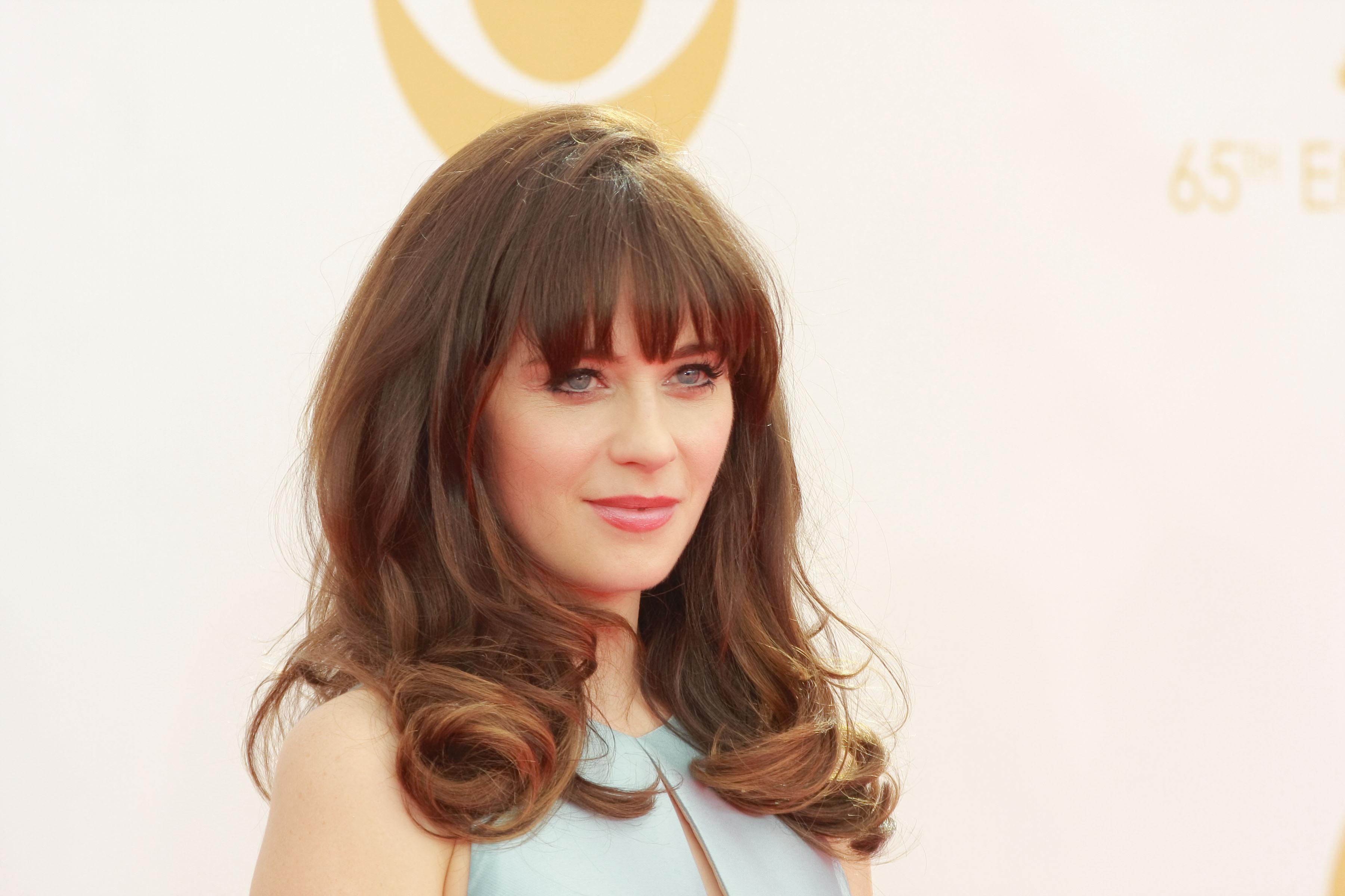 Actress Zooey Deschanel