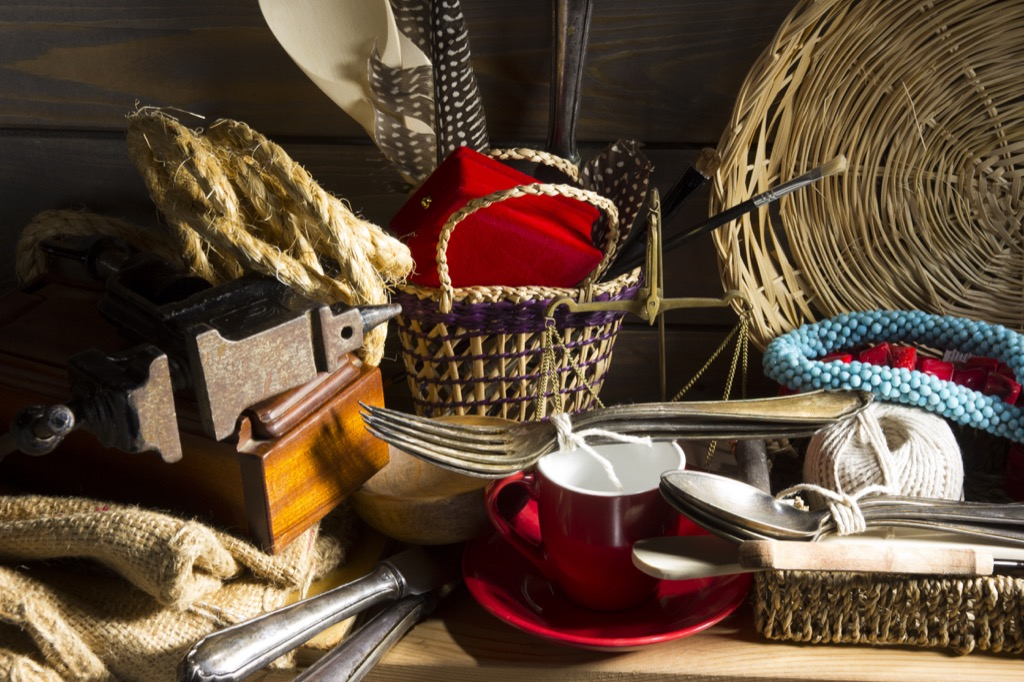 being sentimental about things can lead to clutter
