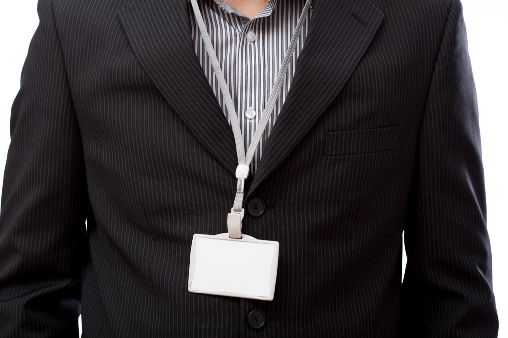 ditch the lanyard at work if you can