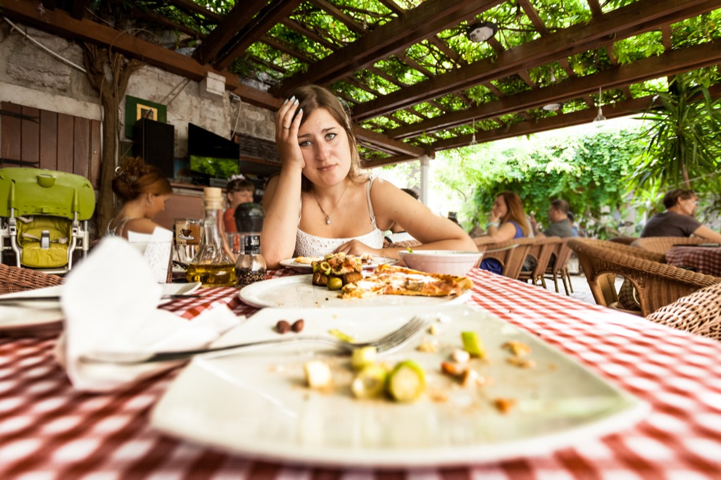 Overeating will hurt you if you want to lose weight