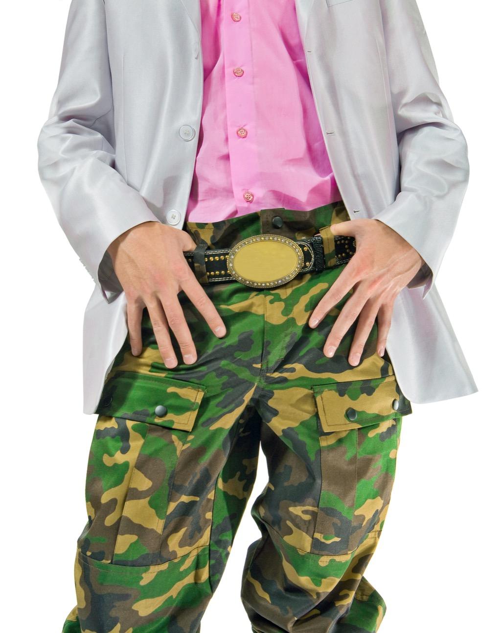 no man should wear camo pants to work