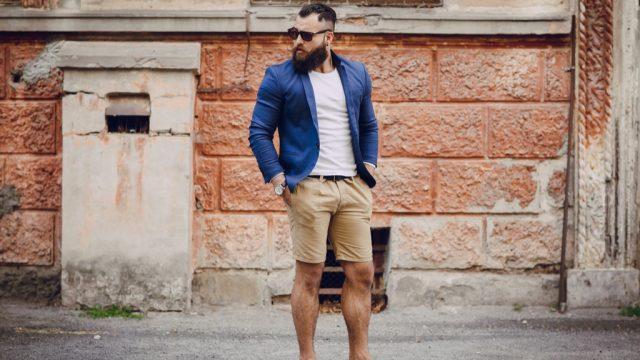 no man should wear shorts to work
