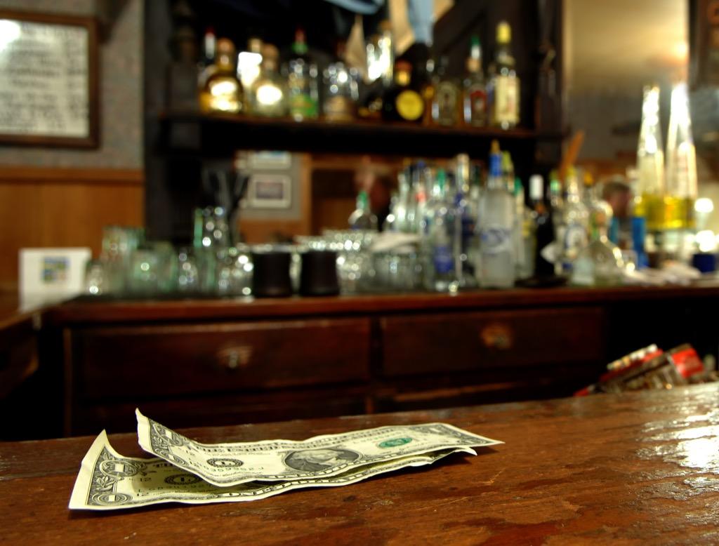 please always tip your bartender Craziest U.S. Presidents