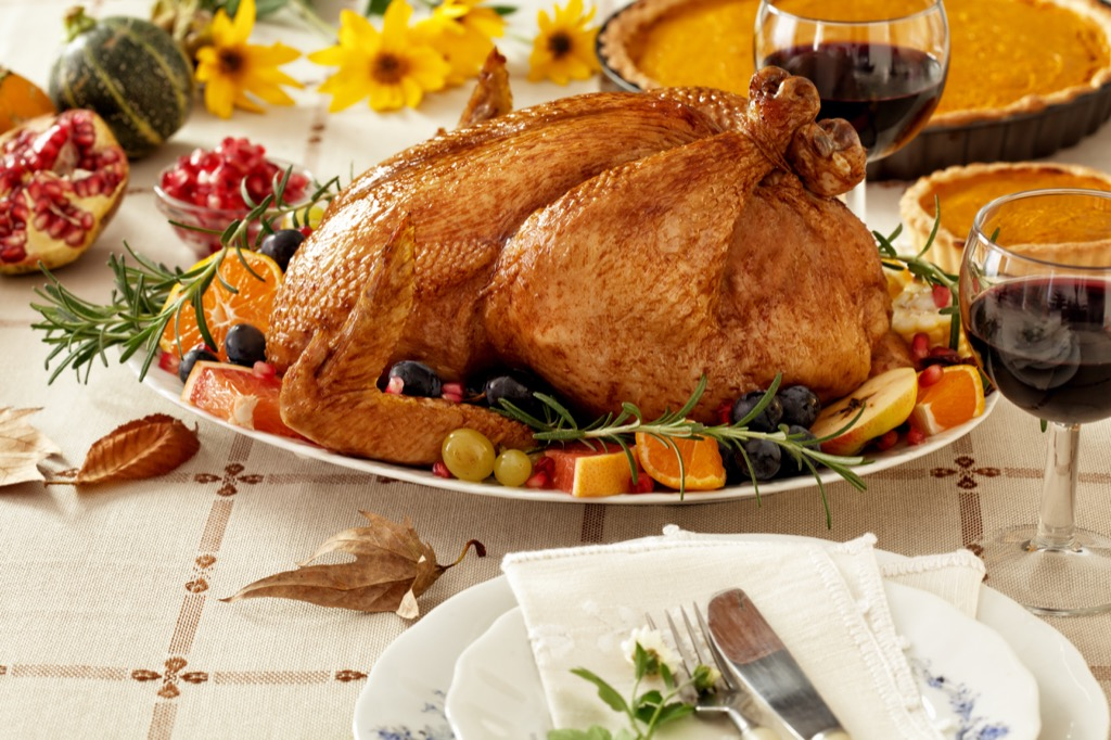 Thanksgiving dinner Most Expensive Things on the Planet