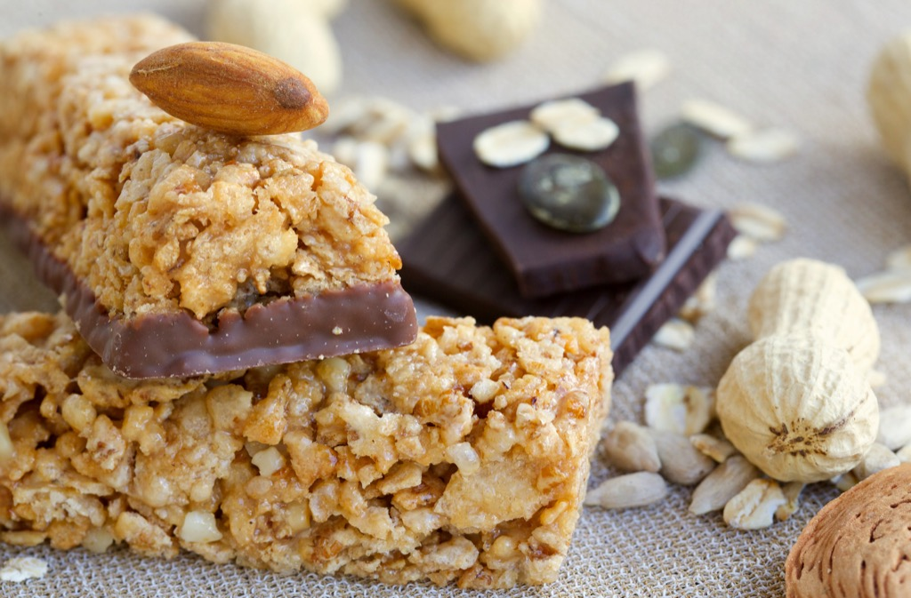 nutrition bars aren't that good for losing weight