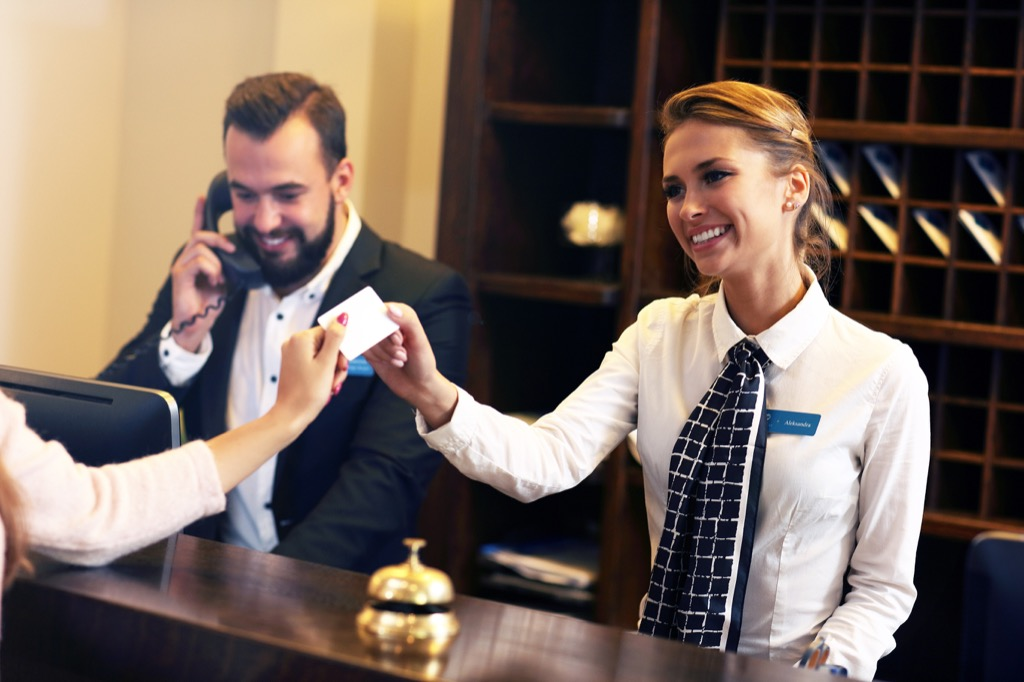 hotels can overbook and pay for your room elsewhere