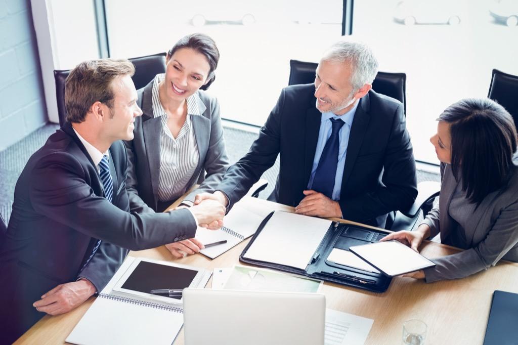 Business Meeting Boss