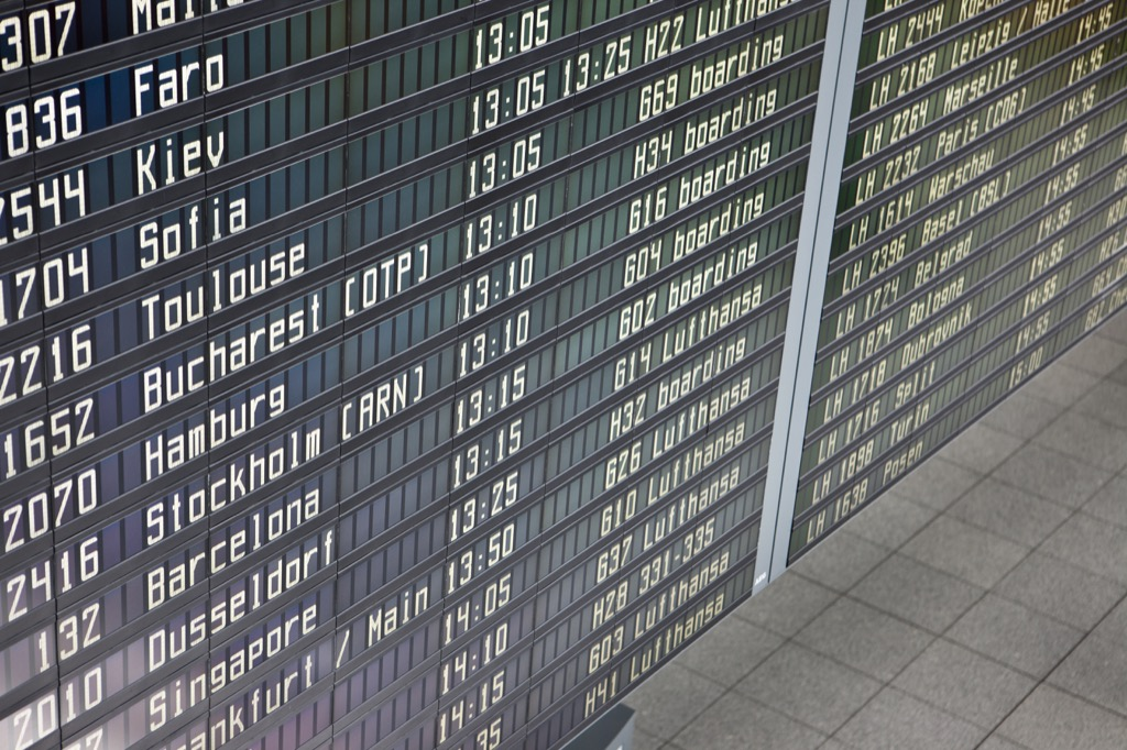 ignore departure times when traveling