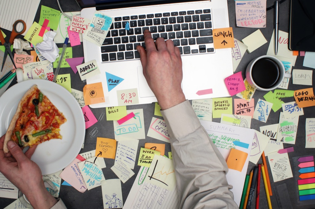being naturally messy says a lot about a cluttered personality