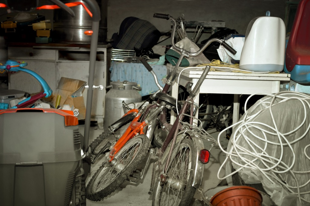 being too sentimental can lead to cluttered spaces