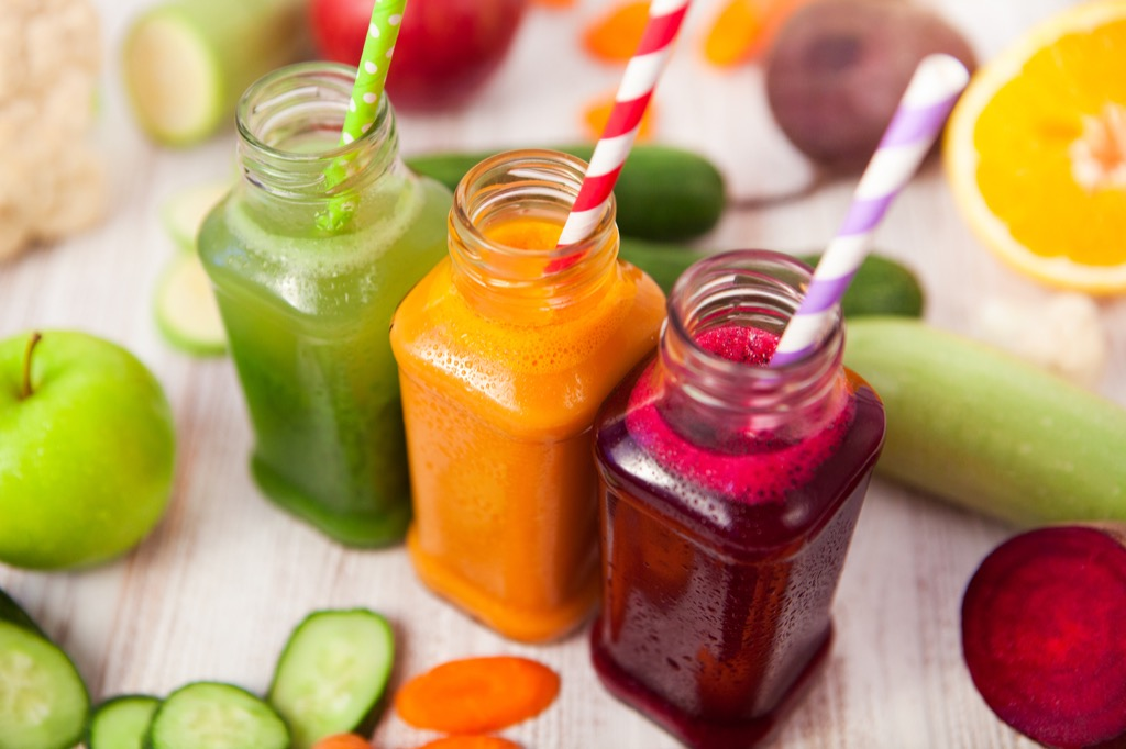 Juice cleanses can backfire on you when you're losing weight