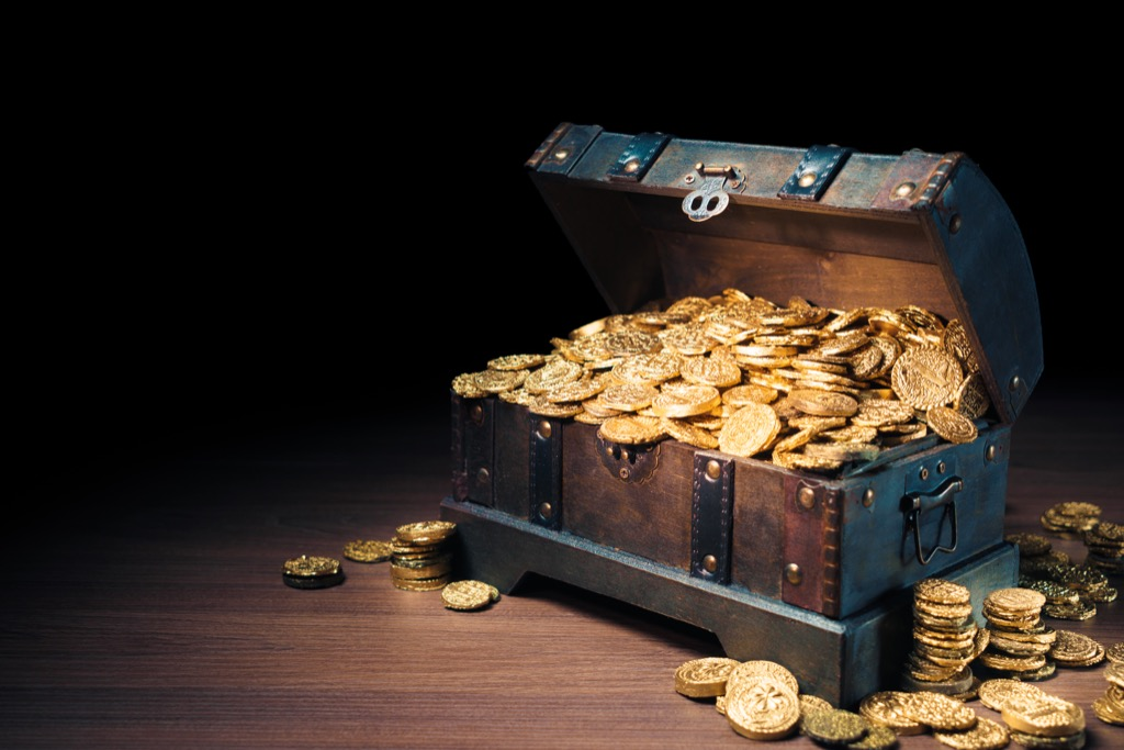 treasure chest the biggest folk hero every state