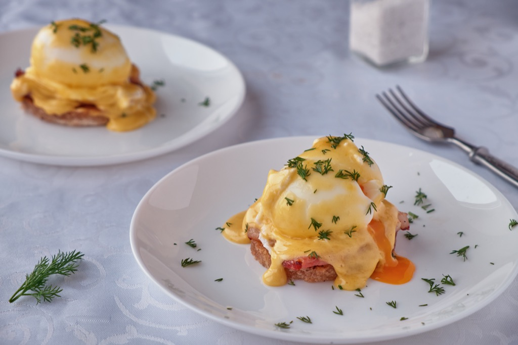 Eggs Benedict boost Metabolism