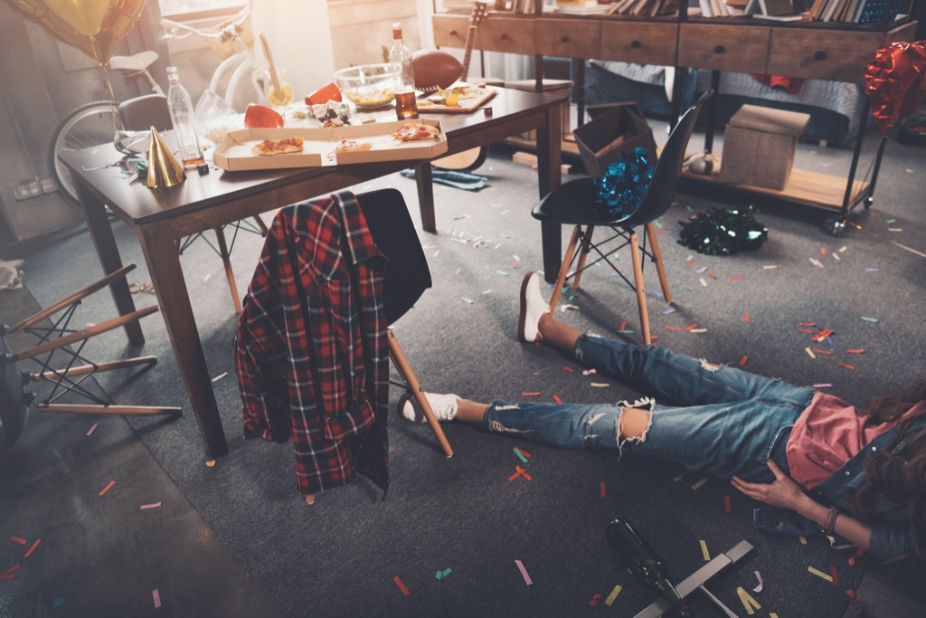 holiday party faux pas