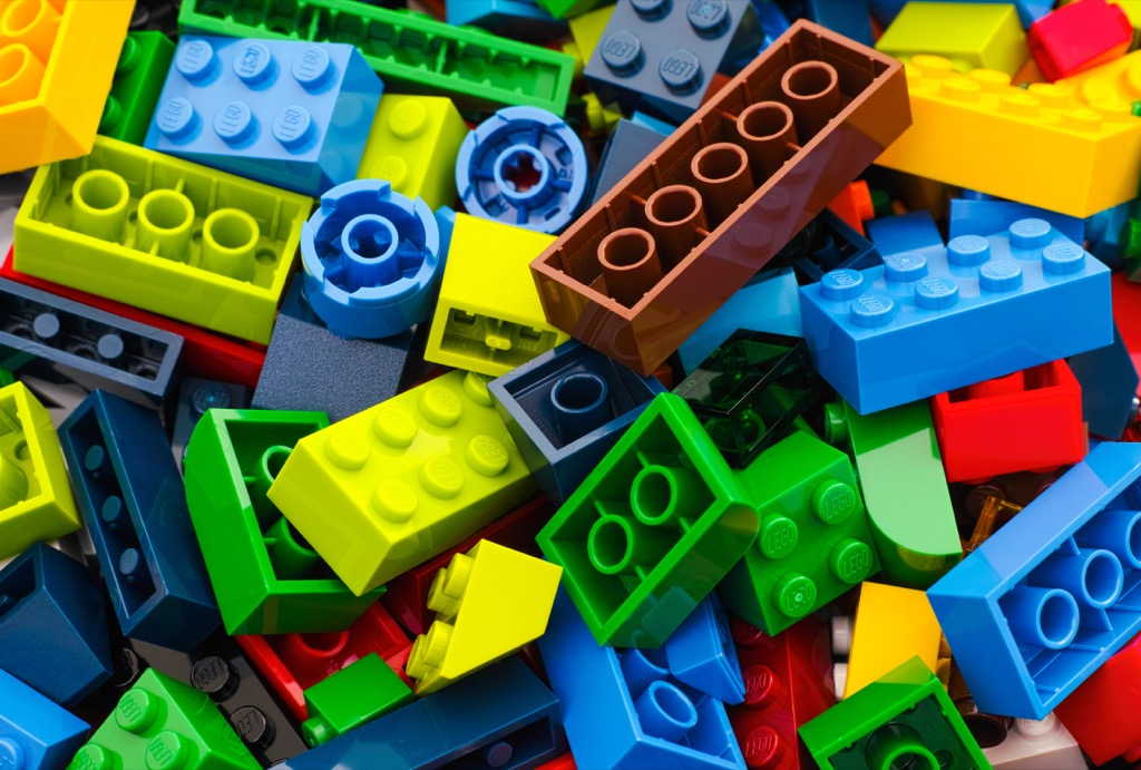 Lego pieces awesome facts